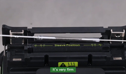 FPS-40/60 Fusion Splice Protection Sleeves Video tutorial